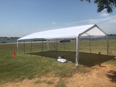 20ft x 30ft Tent Without Side Walls