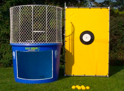 Dunk Tank With Trailer