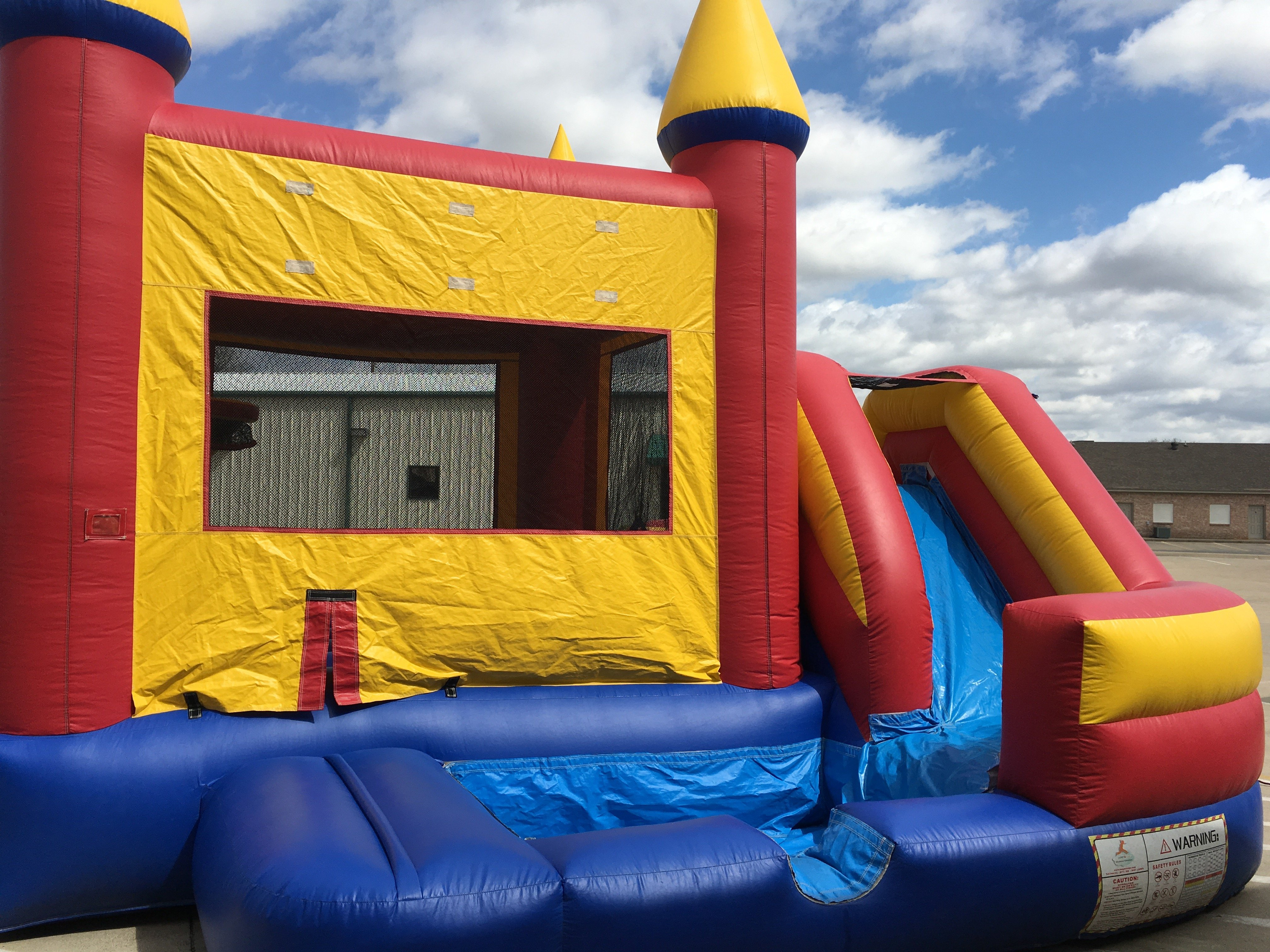 07abf5a97784 Castle Toddler Combo Bouncer - Engles Bounce Houses   Event Rentals