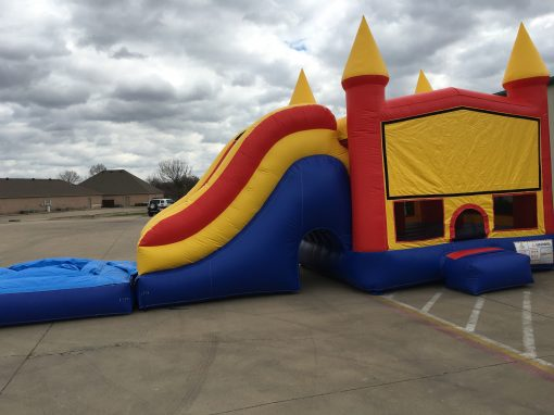 Monster Castle Combo Bounce House WET